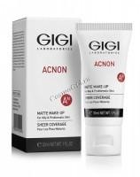 Gigi Acnon Matte makeup (Крем-тон матирующий), 30 мл -