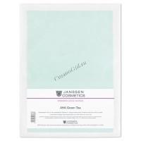Janssen Collagen с АНА green tea (Коллагеновая маска с АНА и зеленым чаем), 1 шт -