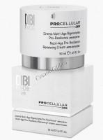 Dibi Nutri-Age Pro-Resilience Renewing Cream With UV Filters (Регенерирующий питательный крем для лица с UV-фильтрами), 50 мл -