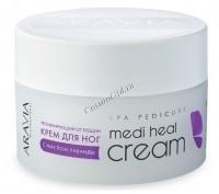 Aravia Medi Heal Cream (Крем регенерирующий  от трещин с лавандой), 150 мл - купить, цена со скидкой