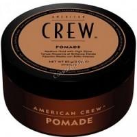 American crew Pomade (Помада средней фиксацией и высоким уровнем блеска для укладки волос), 85 гр -