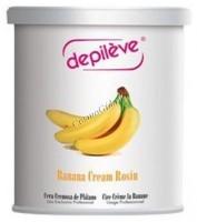 Depileve Banana Cream Rosin wax (Воск банановый), 800 гр -