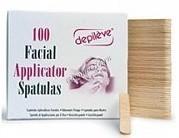 Depileve Facial Applicator Spatulas (Шпатели для лица), 100 шт. -