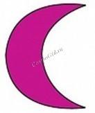 Depileve Шаблон №5 для интимной депиляции (полумесяц), 5 шт. -