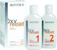 Selective Professional oxyreload (Комплект препаратов для снятия косметического цвета) 2шт по 100 мл -