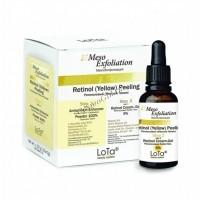 MesoExfoliation Retinol yellow pilling (Ретиноловый желтый пилинг), 10 саше по 1г   флакон 30 мл -